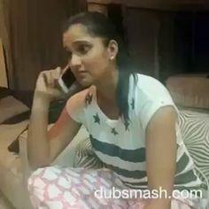 Sania Mirza Dubsmash Video 2