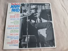 One of the great guitarists  Jerry Reed The Best Of Jerry Reed RCA Victor LSA-3114  UK Vinyl LP Album