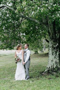 A Cozy Fall Wedding at a B