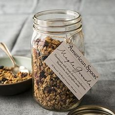 Maple Granola from American Spoon