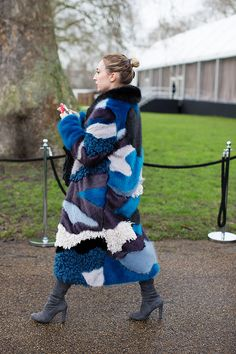 On the Street…Coats with Personality, London «  The Sartorialist