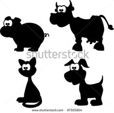 Black White Cartoon Stock Photos, Images, & Pictures | Shutterstock