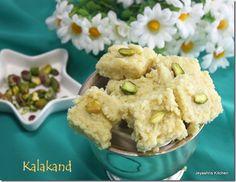 Jeyashri's Kitchen: KALAKAND RECIPE DIWALI SWEETS RECIPE