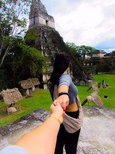 follow me to Tikal Guatamala