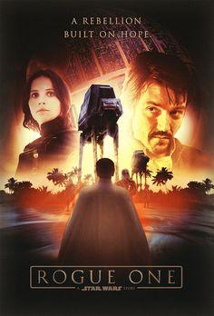 Rogue One: A Star Wars Story Poster by dan-zhbanov.deviantart.com on @DeviantArt