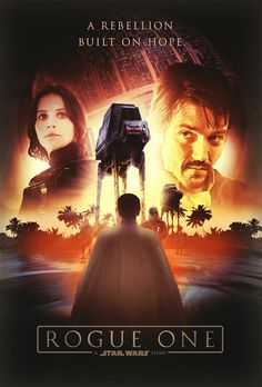 Rogue One: A Star Wars Story.  I didn't fall in love with the main characters.  Its pretty cool and fun like all star wars movies.  The Droid was pretty cool.