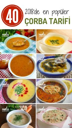 The most popular soup recipes of 2018 are completely flavor guaranteed! Video and de sopa vegetariana vegetariana saludable Whole30 Soup Recipes, Creamy Soup Recipes, Slow Cooker Recipes, Healthy Dinner Recipes, Cooking Recipes, Delicious Recipes, Turkish Recipes, Ethnic Recipes, Iftar