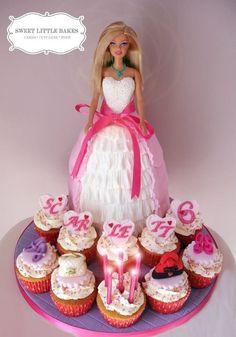 #Barbiecake #dollcake