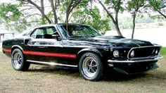Ford Mustang Generations: Fastest Ford Mustang Part 5 : 1969 Mach 1 Cobra Jet