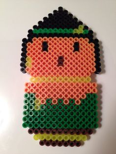 Scarecrow Wizard of Oz Perler Beads by NerdChristmas