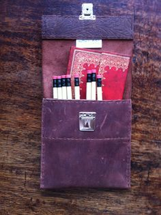 Slimline pencil case designed by MadDogs&Archers available to buy on folksy