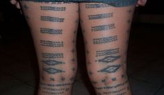 Malu..tatoo only given to Samoan women