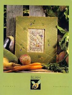 Shepherd's Bush August Cross Stitch Pattern - leaflet
