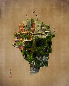 ジブリでファイナルファンタジーな盆栽アートが幻想的すぎる | IDEA HACK