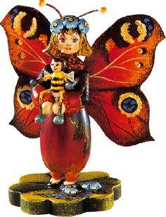 """""""Pfauenauge"""" Schmetterlingskind"""