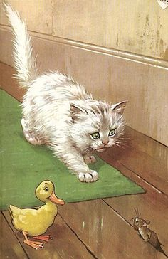 "From ""Puppies And Kittens"" by M. E. Gagg, illustrated by H. Woolley; Ladybird Books, 1956"
