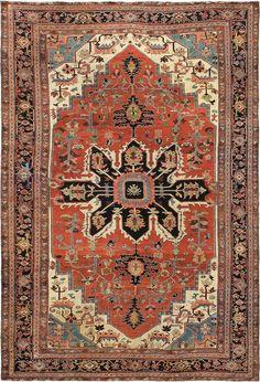 Persian Heriz Serapi rug, J.H. Minassian gallery