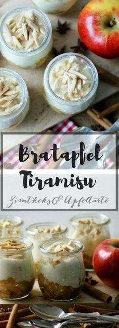 Wundervoll leckeres Dessert zu Weihnachten - mein Bratapfel-Tiramisu - einfach und schnell vorzubereiten, das festliche und doch stressfreie Dessert für die Feiertage!