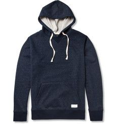 Saturdays Surf NYCDitch Flecked Cotton-Blend Jersey Hoodie MR PORTER