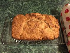 Simple Vegan Banana Bread Recipe // this recipe turned out well with gluten free flour and stevia instead of sugar. I might play around with the amount of baking powder to get a little more rise, but it is good. Simple Vegan Banana Bread Recipe, Banana Bread With Oil, Vegan Bread, Easy Bread Recipes, Banana Bread Recipes, Vegan Recipes, Cooking Recipes, Vegan Foods, Vegan Snacks