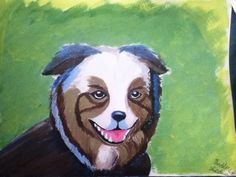 Painted Puppy. ©Madeline Secules#TDQ