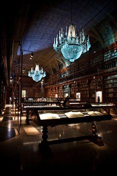 Biblioteca Braidense, Academia de Bellas Artes de Brera en Milán, Italia. (Crédito «Por Hômme».)