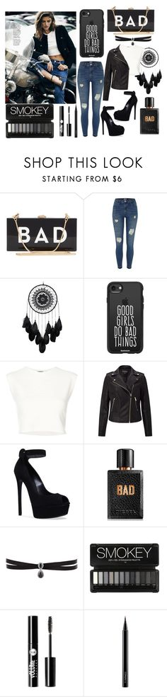 """""""Bad"""" by lana-246 ❤ liked on Polyvore featuring Milly, River Island, Casetify, Anja, Puma, Casadei, Diesel, Fallon, Charlotte Russe and MAC Cosmetics"""
