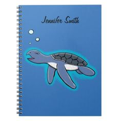 Blue baby elephant notebook baby gifts giftidea diy unique cute cute baby turtle cartoon notebook baby gifts child new born gift idea diy cyo special negle Choice Image