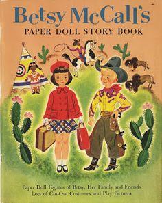 Bonecas de Papel: Betsy McCall Paper Dolls
