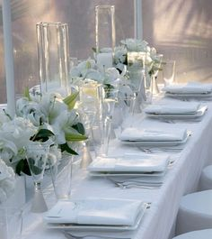 Superbe Elegant Table Setting Yet Simple
