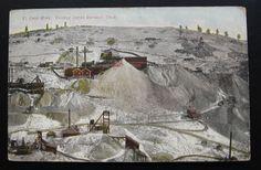 1900's 1910's MINING Postcard ~ EL PASO GOLD MINE ~ Cripple Creek District