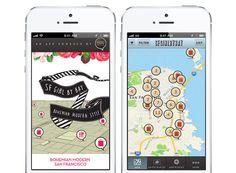 Sfgirlbybay's App - Guide to Bohemian Modern San Francisco | via Rue Magazine
