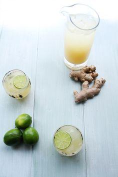 Homemade Ginger Beer - recipe at cali-zona.com