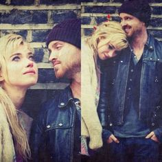 Aaron Paul e Imogen Poots. Need for speed.seriously love them!!!