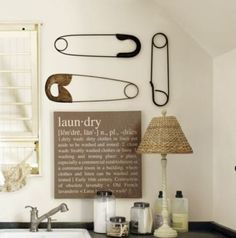 laun-dry - Click image to find more Home Decor Pinterest pins