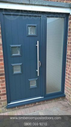 Check out this abstract beauty! Design, price and order your bespoke door online instantly! Timber Composite Doors are the UKs Supplier and installer! All Doors come with Finance available Contemporary Front Doors, Modern Contemporary, Us Office, Doors Online, Composite Door, French Grey, Door Design, Bespoke, Locker Storage