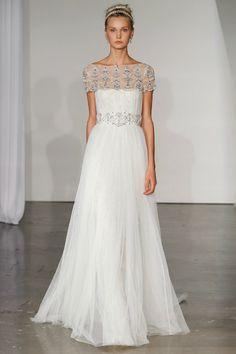Grecian wedding dress style - Marchesa