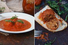 HAPPYFOOD - Фасолевые тефтели с томатным соусом с пастушьей сумкой