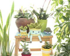 El blog de Dmc: Patrón de ganchillo: plantas con Natura Medium