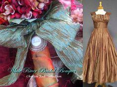 Stunning Cherish Bridal Bouquet Set by whiteriver51 on Etsy, $650.00