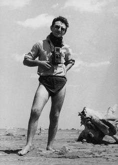 Lucien Clergue (1934-2014) aux Saintes Maries de la Mer 1957