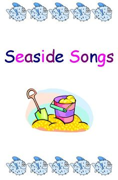 Seaside Song Book - this resource contains a small selection of popular seaside songs. Camp Songs, Kids Songs, Lighthouse Keepers Lunch, Katie Morag, Counting Songs, Toddler Beach, Sea Activities, Seaside Theme, Summer Songs