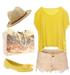 """""""it was all yellow"""" by kkaylawoodssx on Polyvore"""