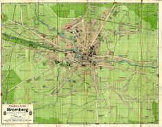 Plan Bydgoszczy 1913
