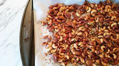 The Pampered Baby: Yummy Mummy Monday: Spiced Nuts