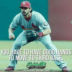 Matt Carpenter has great hands ;)