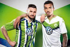 Nouveau maillot Wolfsburg pas cher 2015 2016