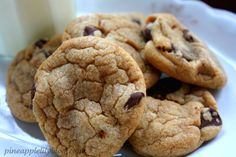 "Supposedly the ""best"" chocolate chip cookies"