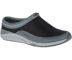 Women's Applaud Mesh Slide Do it all comfortably in this ultra-easy slip-on--our breathable mesh and leather moc with elegant front detail.
