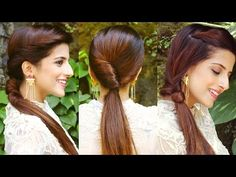1 Min Everyday EFFORTLESS Hairstyles With Ponytails For School, College, Work, | Indian Hair styles - YouTube
